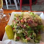 Chopped antipasti salad, small....with romaine