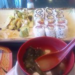 beside the Tuna and Boston Roll you will see to the far left one Ika[squid] my personal kryptoni