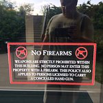 no firearms policy