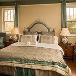 Suite #7 - Generous two-room suite; master bedroom