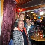 Having fun on The Bund - Captain Bar Interior