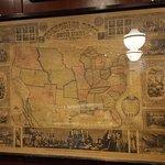 1853 U.S. Map