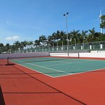 Had great tennis courts. Get there early to avoid the heat.