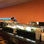Sushi bar with a chinese cook