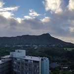 View of Diamondhead from our room