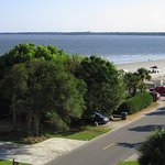 View from The Rooftop in St. Simons Island, Georgia