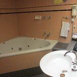 Spacious old bathroom
