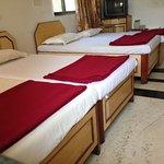 Five Bedded Family Room on Top Floor