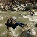 River crossing on the Beas