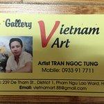Pham Ngu Lao Street Foto