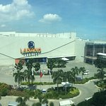 View of SM Lanang Premier Mall from my room in Park Inn