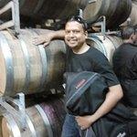At wine storage