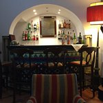 The hotel bar - like something out of Casablanca.