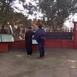 entry gate of park..........