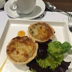 This vegetable quiche I had was one of the best I had. It warms the tummy with its generous fill