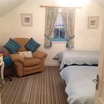 Room 5 ideal for family or luxury twin room