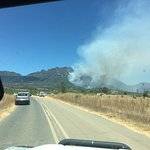 Devastating fires in the Cape Winelands. Many farms have been destroyed and the Havequa Forest i