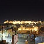 Jaisalmer Fort from Rooftop Restaurant