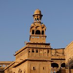 Maharaja's Palace opposite Hotel
