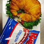The BEST Chicken Salad Croissant!