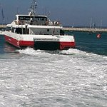 RedJet at Cowes