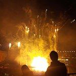 Post-game Fireworks at Camden Yard