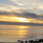 Coucher de soleil d'hiver en Charente Maritime