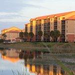 Westgate Resort at water's edge.