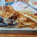 Bacon Mushroom Grilled Cheese
