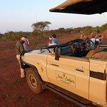 Auf Safari - Vorbereitung zum Sundowner