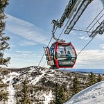 The Summit Express Gondola is walking distance from your room