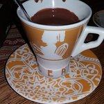 Fantastic hot chocolate