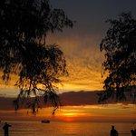 Sun set at Lazy Beach