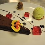 Spiced Chocolate Torte (Dessert)
