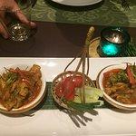 Leckeres Abendessen im Hotel