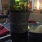 Beautiful wine to go with a fantastic meal. Service was 200%. Thanks