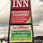 KOOTENAY COUNTRY INN - NEW MANAGEMENT
