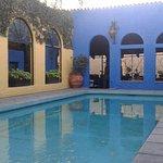 Une des deux piscines