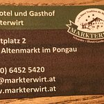 Foto van Hotel Markterwirt