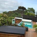 Infinity pool and Spa Pool