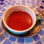 Hibiscus tea 480yen