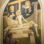 Painting by Fra Angelico in one of the monk's cells, Convent of San Marco
