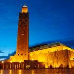 The great Mosque of Hassan II in Casablanca