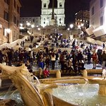 On top of the Spanish Steps