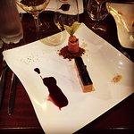 Entrée autour du foie gras et magret de canard