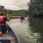 Canoeing the Macal River