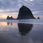 Haystack Rock, only a couple of 100yds from front door.