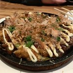Tokyokonomiyaki was very good.