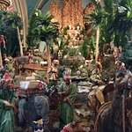 Picture of part of the creche on display during the advent and Christmas season
