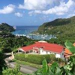 Looking over Marigot Bay